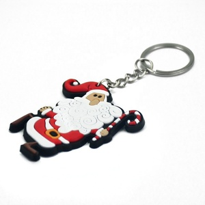 Custom promotional gifts hot product custom logo 2D/3D soft rubber pvc keychain