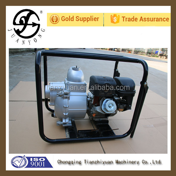 2016 hot sell 4 inch mud pump driven by 13Hp(188F) diesel or gasoline engine