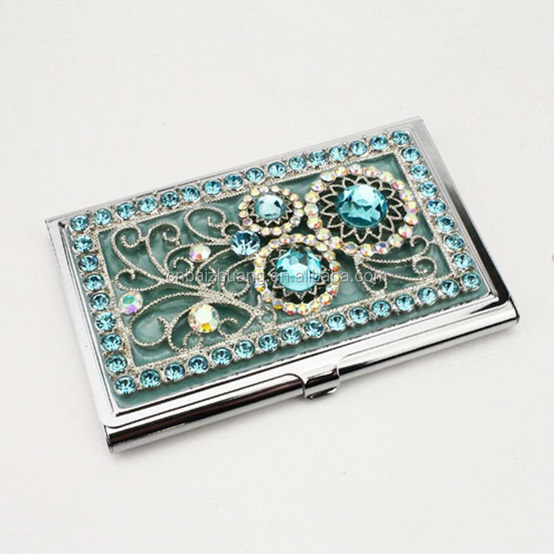 Metal Pocket Business Card Holder Metal Money Clip And Card Holder ...