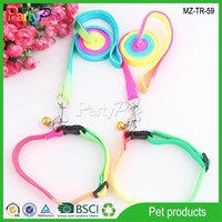 2015 China Wholesale Pet Product Supply Rainbow Color Dog Leash