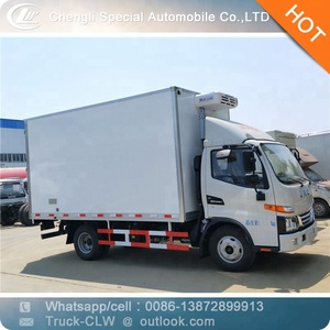 frozen food transport truck dongfeng 2t Refrigerated Vehicle