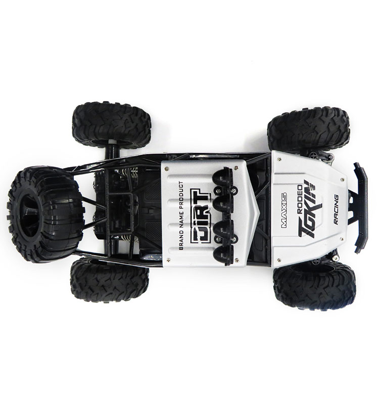5. 6026E_Silver_2.4G_4WD_Off-Road_Buggy_Rc_Climbing_Car_Remote_Control_Alloy_Car