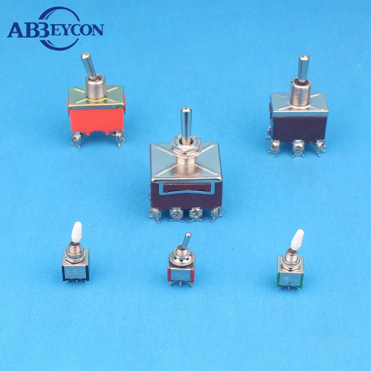 6A-125V Single Pole Toggle Switch w//Water proof Cover Cap IP67 Toowei 3A-250V
