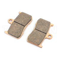 Sintered metal cheap motorcycle brake pads for sale