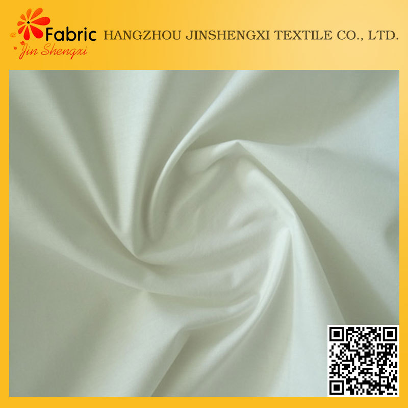 Bed sheet cheap white soft 100% cotton fabric crepe