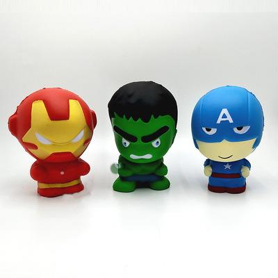 Marvel 500 Series 10pcs super heroes figure toys No Duplicates