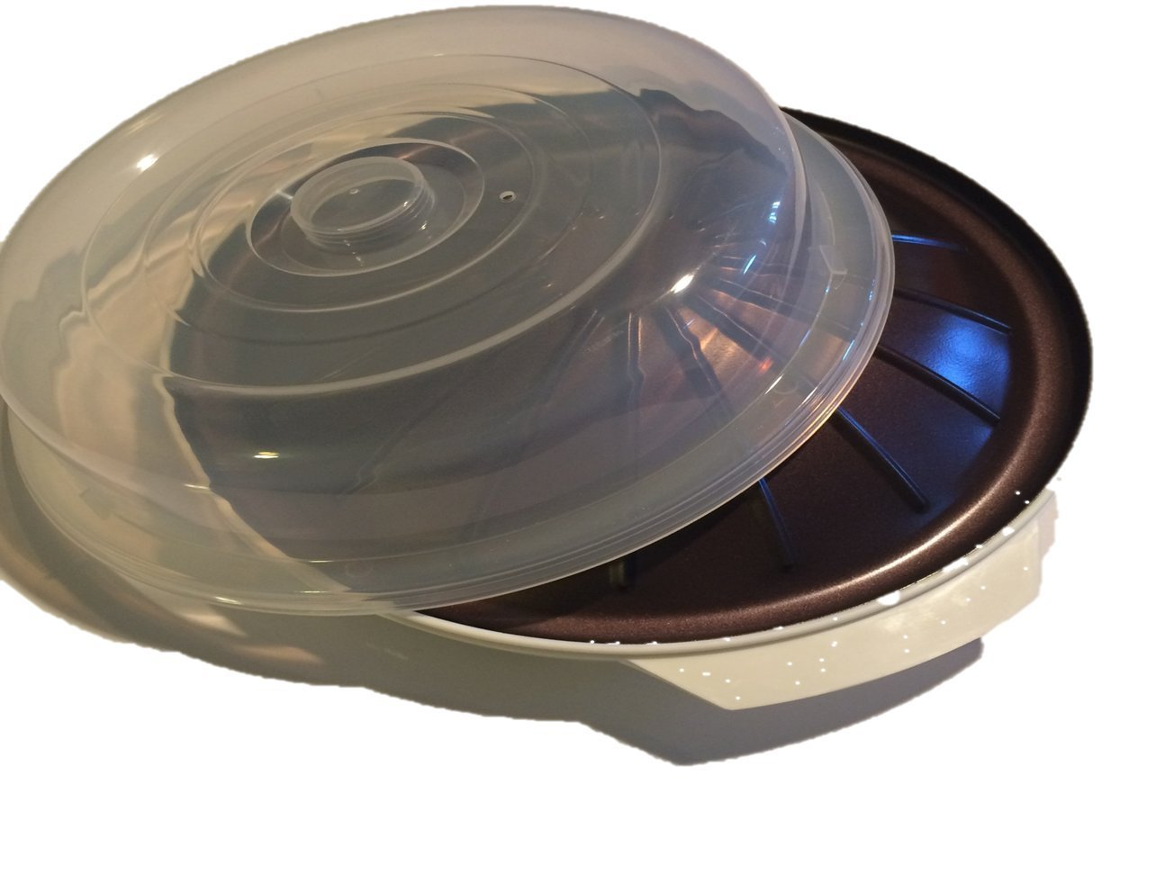 Microwave Roasting Plate, Kitchen Accessories, Appliances, Cooks Meats & Vegetables