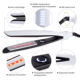 ceramic custom led 450 degrees hair straightener intertek infrared flat iron
