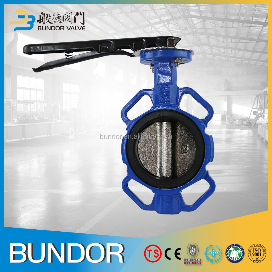 GB/T12229-2005 cast iron body patent water-stop ring butterfly valve
