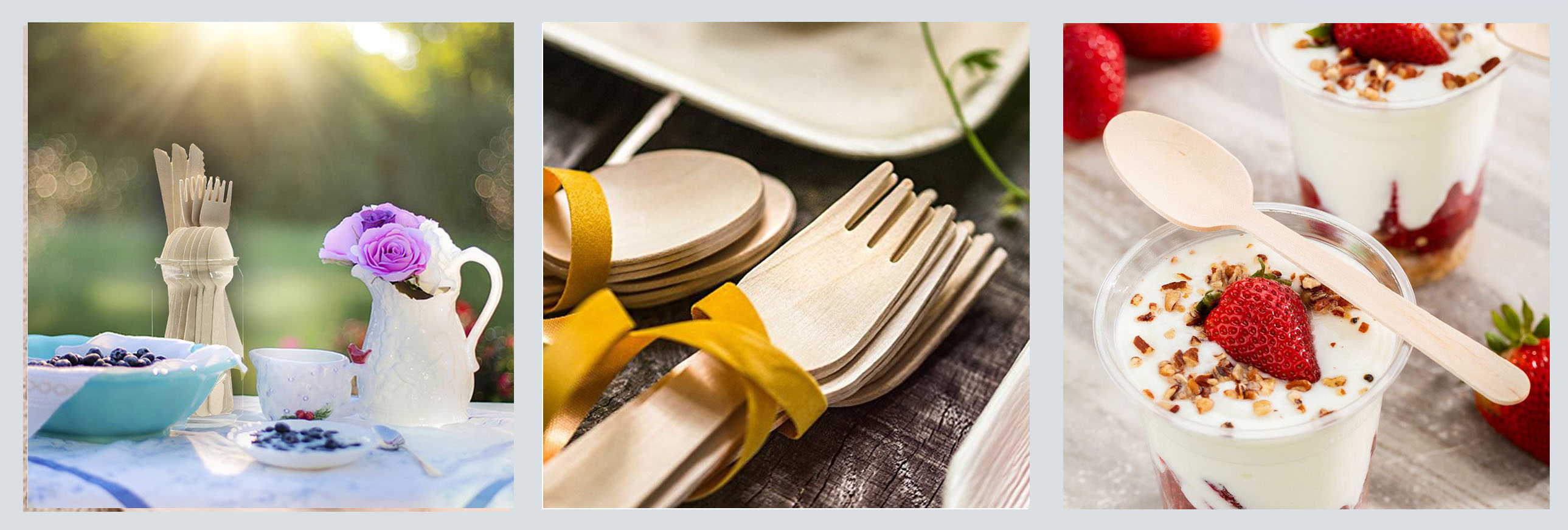 Factory Supply Disposable Cafe Use Natural Wood Pasta Fork