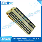 18K Gold metal customized replica money clip
