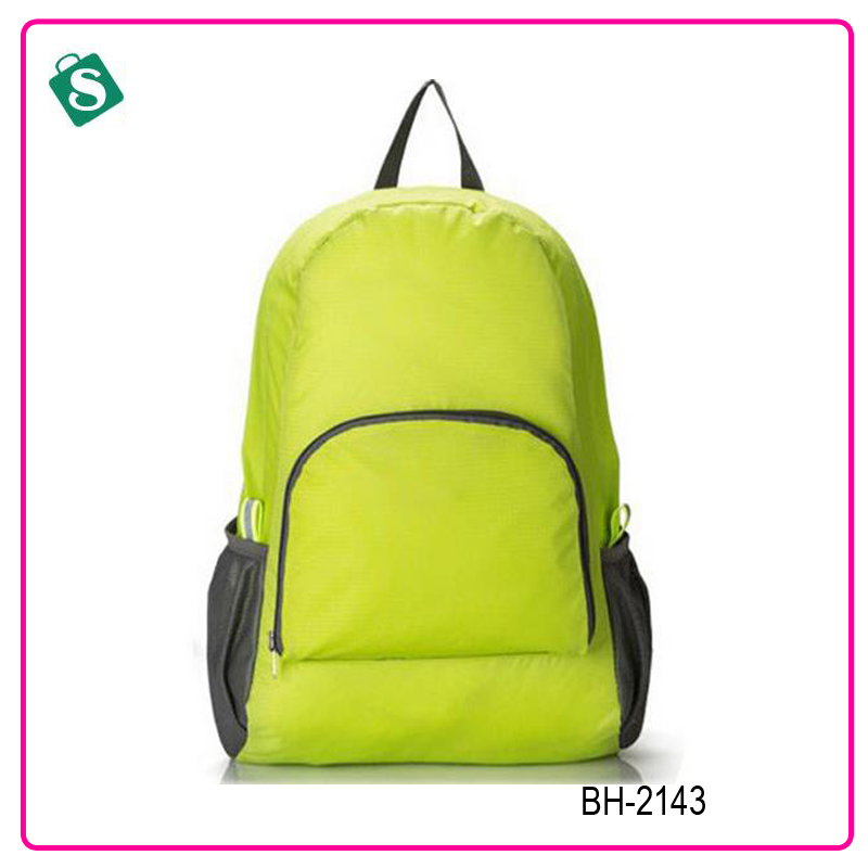 New simple style candy color school backpack bag