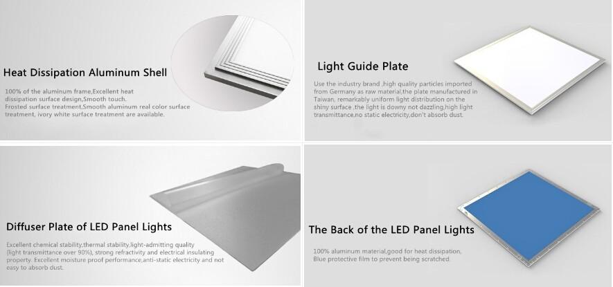 motion sensor led panel light emergency led light for office building hotel