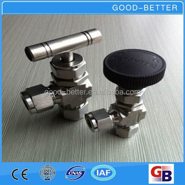 Hot selling High Pressure stainless steel angle type needle valve
