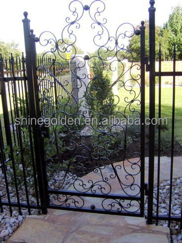 Modern Iron Main Gate Design For Home Villa And Gardengyd-15g1091 ...