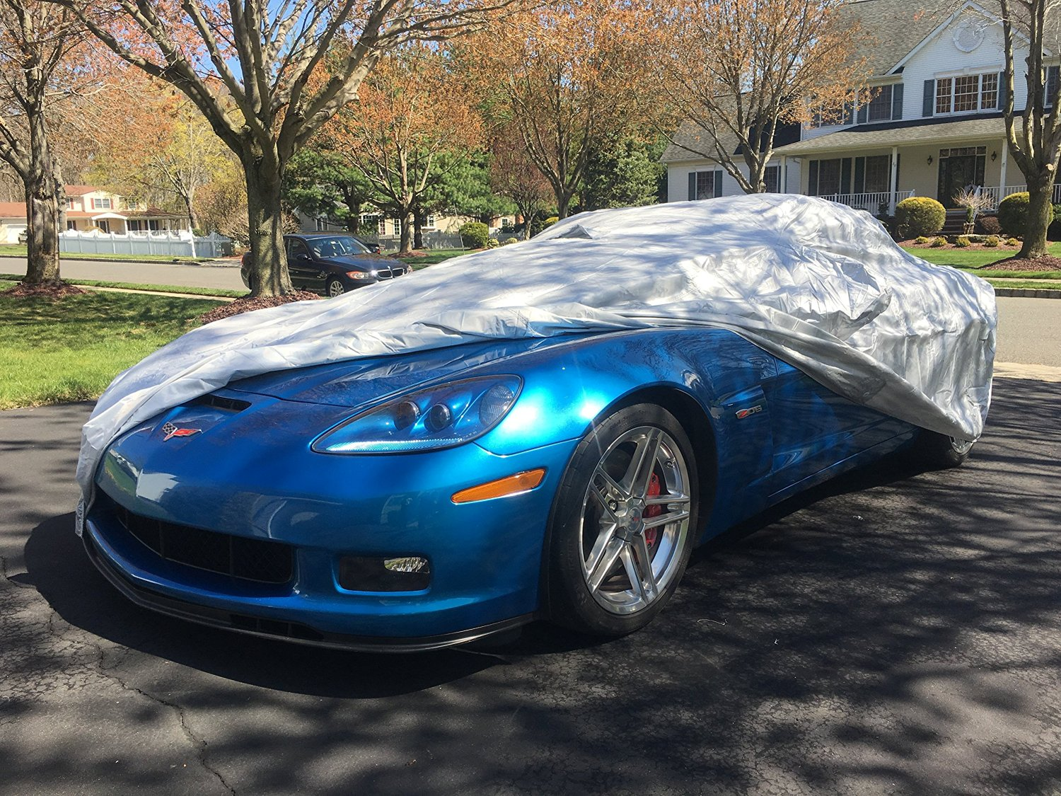 2005 - 2013 Chevrolet Corvette C6 Select-fit Microbead Car Cover Kit (Coupe,Hardtop,Convertible,427 and ZR-1)