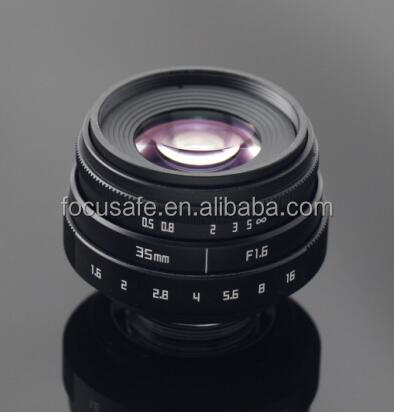 Fujian Factory Sales No 1 F1.6 35mm mirrorless camera lens