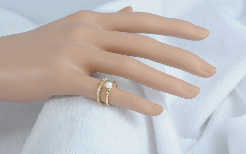 little of joint finger wild rose tail ring the gold see rings image new product plated larger