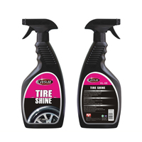 500ml Hot sale car care product aerosol spray silicone tire shine