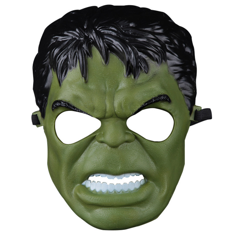 Incredible hulk green giant man cartoon mask joey cosplay for Incredible hulk face template
