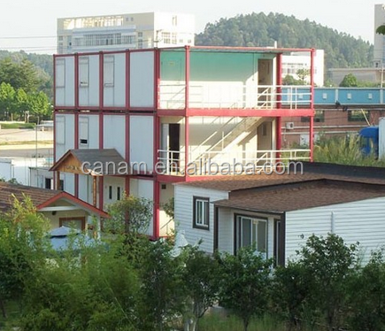sandwich panel container house modular mobile container office