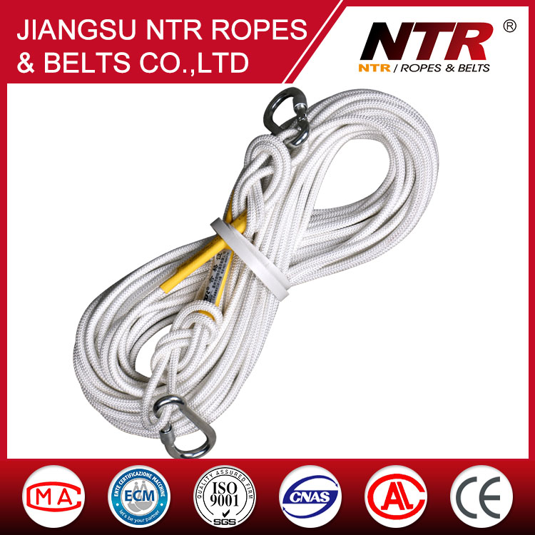 Color : 20mm, Size : 80m Contain Steel Wire Jingdun Outdoor Safety Rope Wear-Resistant Aerial Work Rope Rescue Rescue Rope Double-Layer Weaving 20mm Ropes 16mm Without Steel Wire