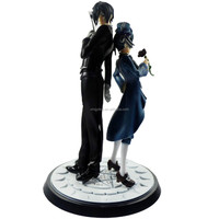 without box loose Black Butler Xtra04 Sebastian Michaelis VS Xtra03 Ciel Phantomhiv Collectible Toy action Figure