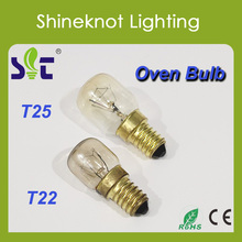 Zhejiang Factory Cheap Oven Bulb T22 T25 Filament Light Bulb CE RoHs Approval