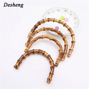 Shining Perfect Surface Tote Purse Clutch Bag Wooden Handles Frame Box Handbag Bamboo Handle