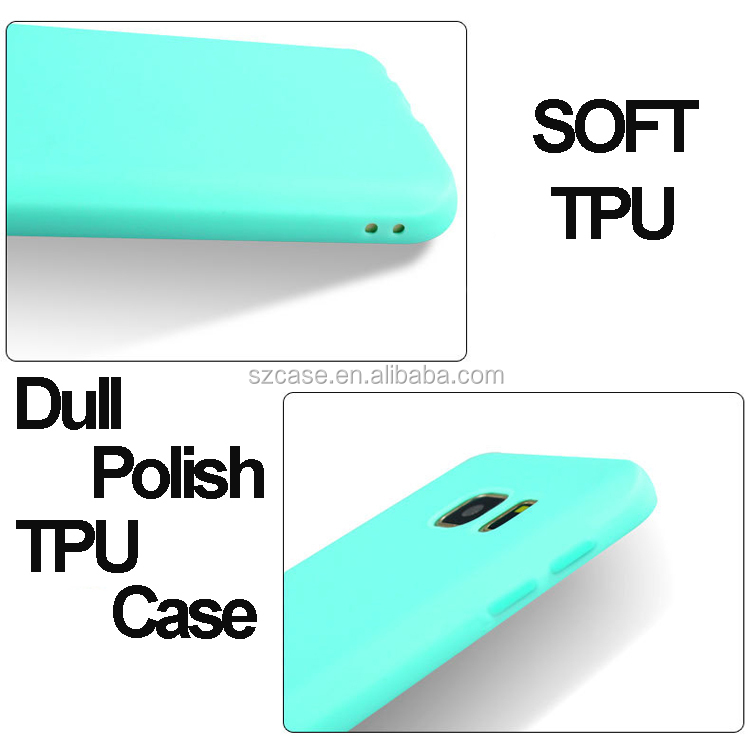 Jelly Soft Ultra Thin Dull Polish TPU Phone Cover Case for Samsung Galaxy A8