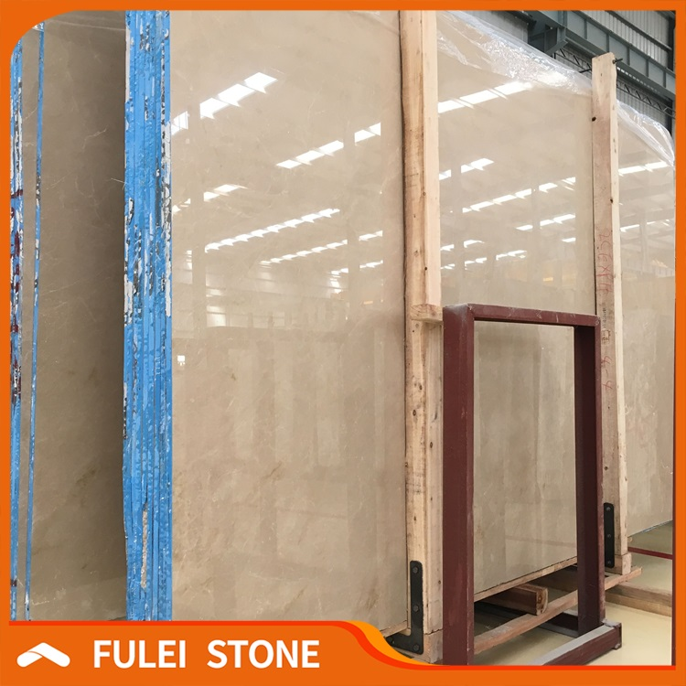 Hot Sale Polished Natural Turkey Burdur Beige Marble Slabs