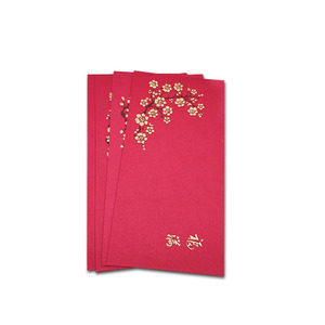 Custom 2019 red packets Chinese new year red money packet