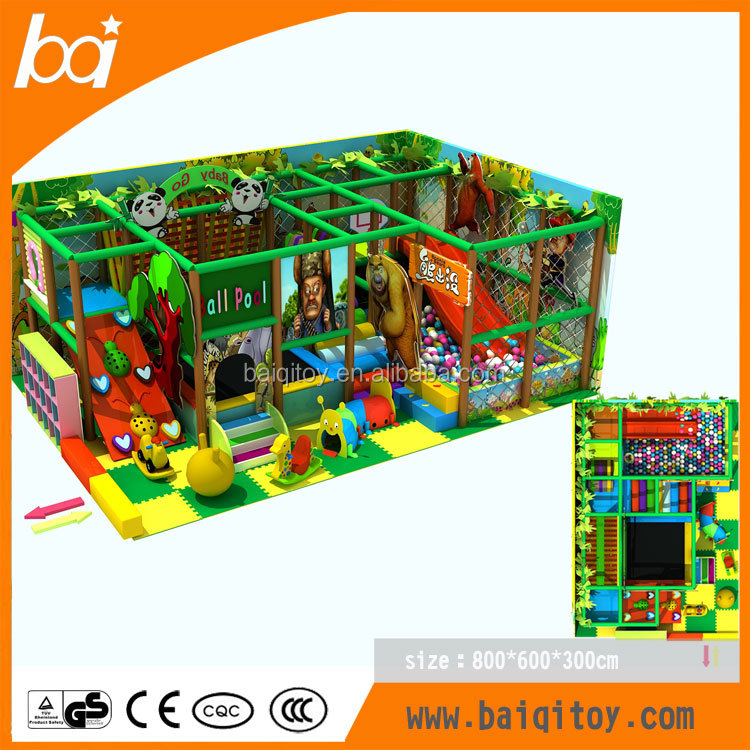 2015 professional electric castle indoor playground for sale
