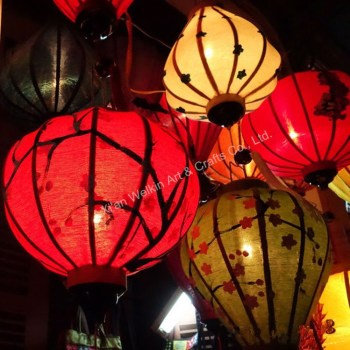 how to make silk lanterns