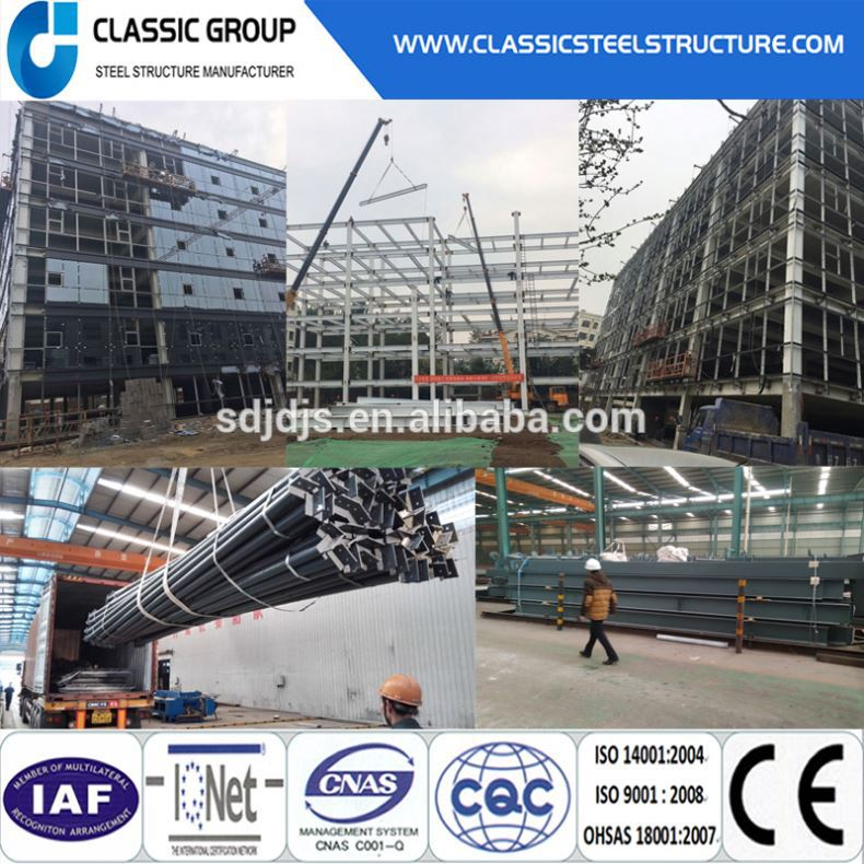 Factory Direct Supply Steel Structrue Precabricated Frame House