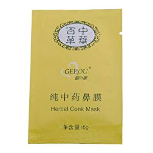 Herbal Deep Cleansing Nose Pores Blackheads Remove Conk Mask