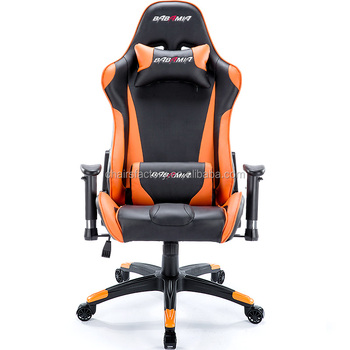 Luxury Orange Leather Office Chair/sports Racing Chair/reclining Office  Chair Of F1