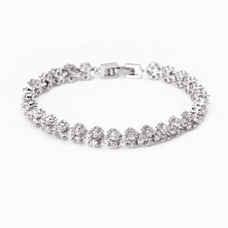 High performance fashion design woman crystal beads bracelet