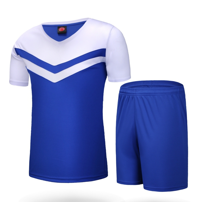 1e4ce46b836 Get Quotations · 2015 New Arrival Soccer Jersey Set Men Blank Paintless new  team futbol Football Training Suit Short