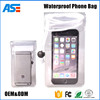 Cheapest wholesale waterproof phone bag for promotion mobile neck hanging bag