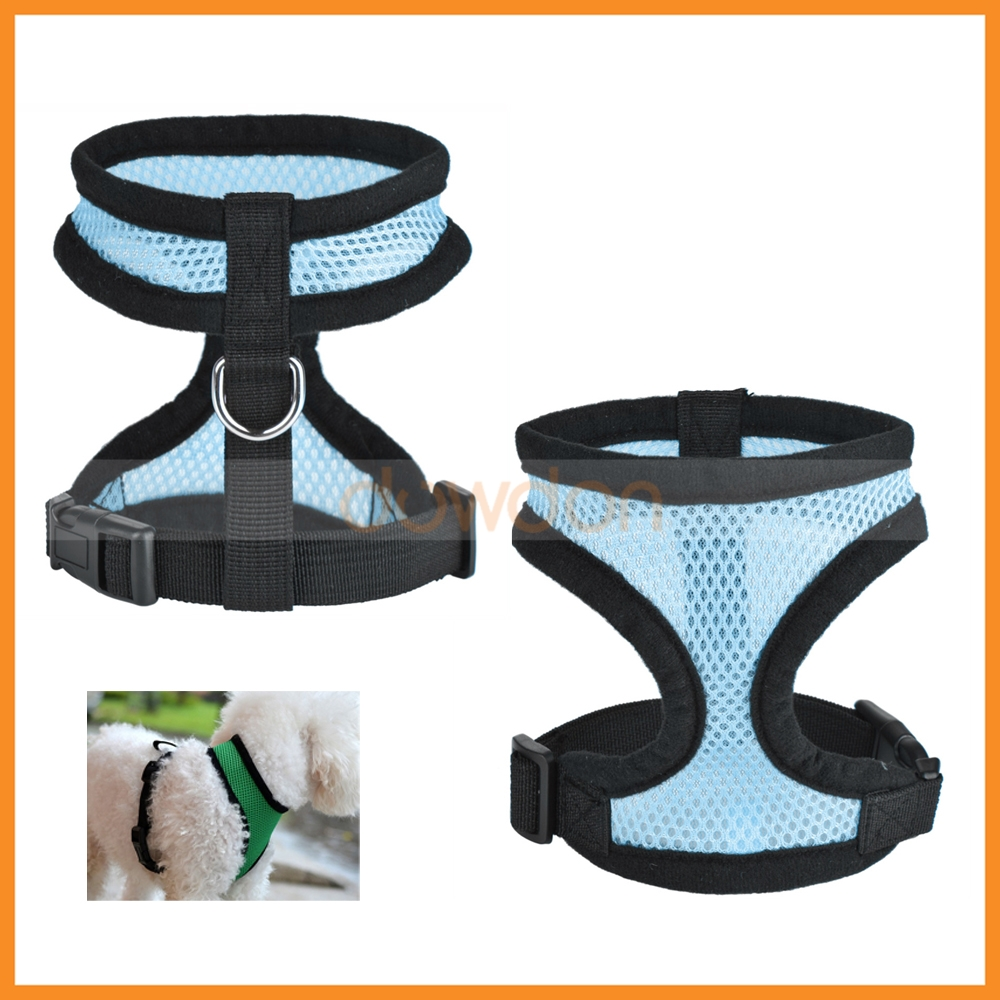 Adjustable Comfort Soft Best Mesh Small Dog Cat Harness