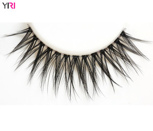 eyelash factory long lasting glues clear band 3d mink lashes