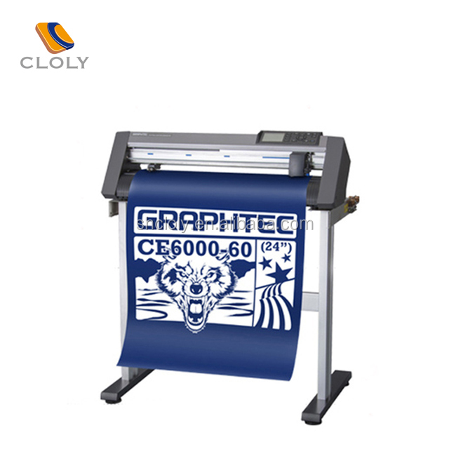 Hot sale vinyl paper plotter cutter plotter Graphtec CE6000 serie digital cutting plotter