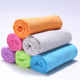 china supplier wholesale thin softtextile microfiber cooling perfect gym towel
