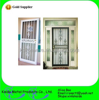 High Quality Modern Cast Iron Window And Door Grill Design
