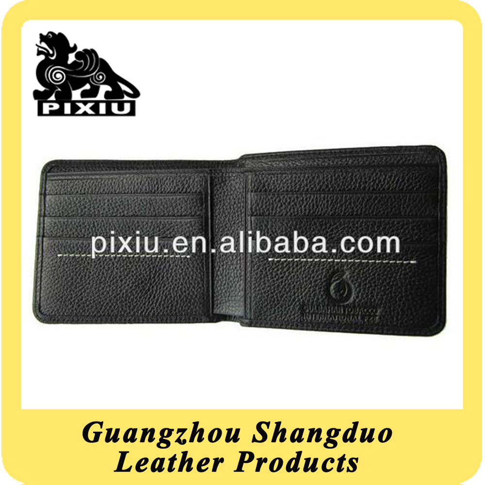 GZ Factory Low Price Fashional Genuine Leather Notecase for Men