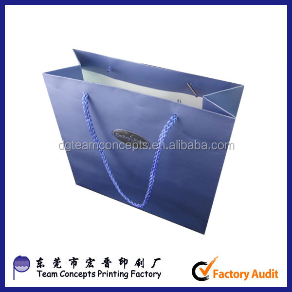 high quality china golf gift paper bag manufactures