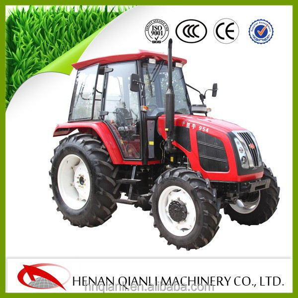 4WD Farm Tractors Chinese Agricultural Tractors hot sale in Korea