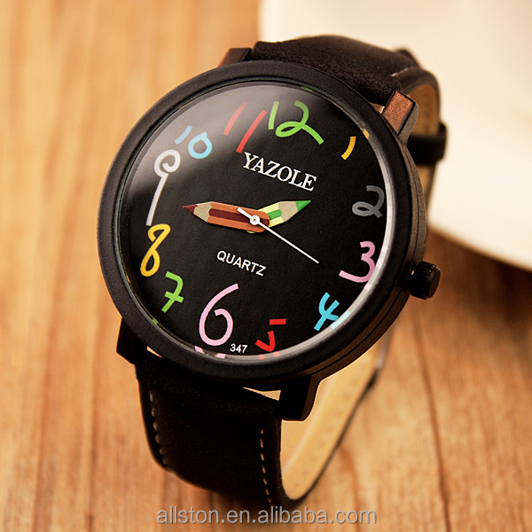 Student couple watches color female models quartz watch manufacturers wholesale supply