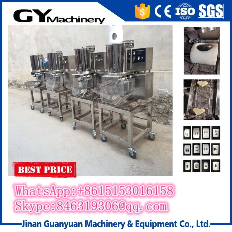Commercial cutlet making machine chicken nuggets forming machine
